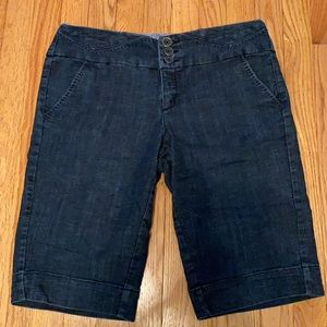 "Junior size 13 jeans shorts. 13"" inseam"